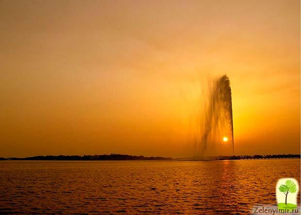 Фонтан Фахда - самый высокий фонтан в мире, Саудовская Аравия - 2