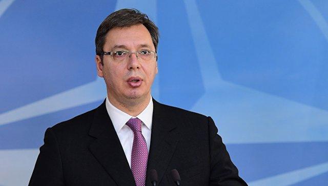 Вучич обвинил Британию, Германию и США в создании армии в Косово