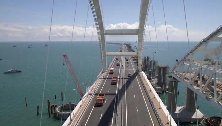 """Крымский мост обошелся в """"копейки"""": названа цена постройки переправы через Гудзон"""