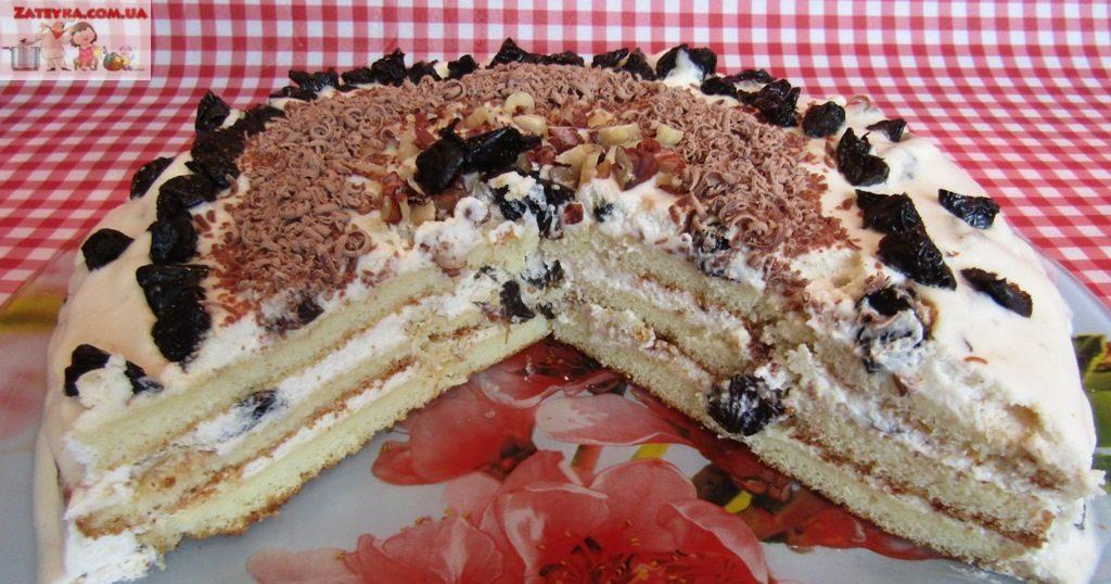 Торт на сгущенке со сметанны…