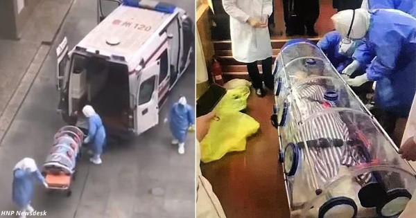 Как в Китае перевозят больны…