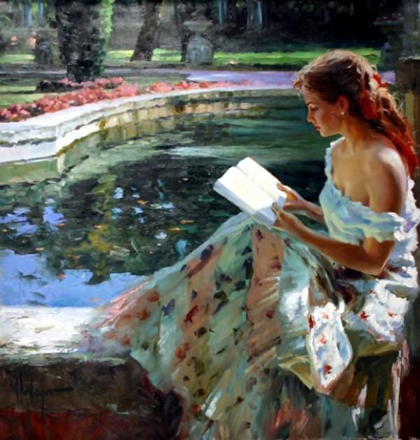 Светлые картины Владимира Волегова