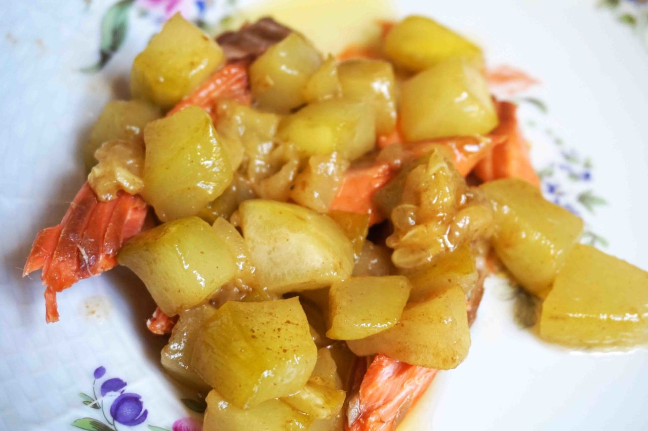 ПОХВАСТУШКИ: Кабачки и лимонно-карамельном соусе (по-русски)