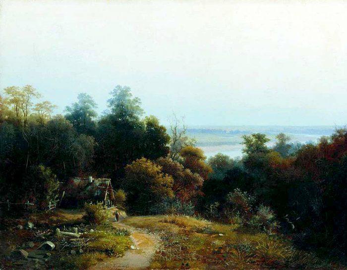русский пейзаж 19 век - 01