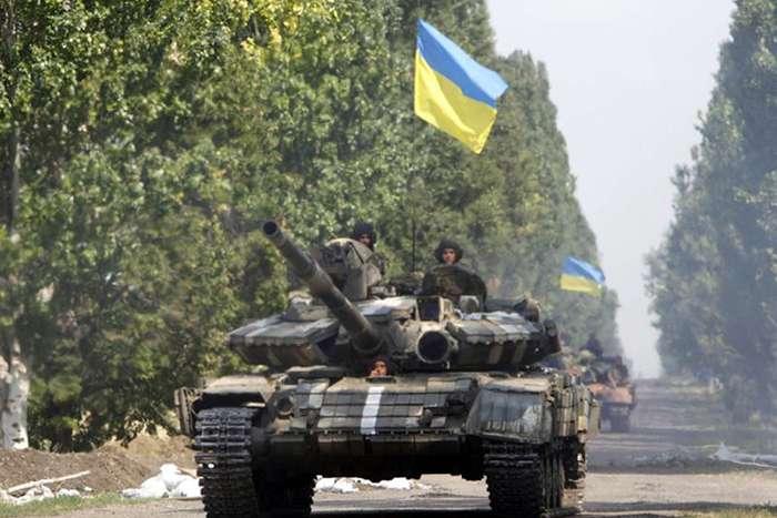 Киевская хунта пробует бросать танки на Донбасс