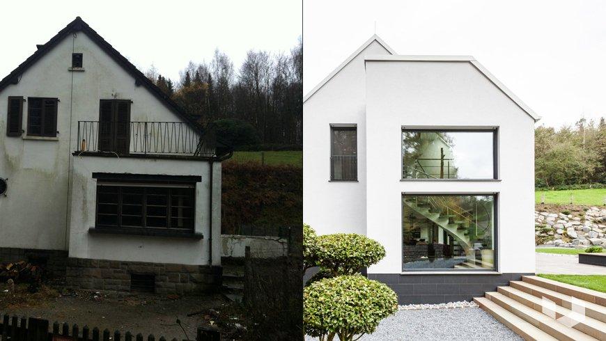 Реконструкция 70-летнего дома в Германии в современное энергоэффективное жилище