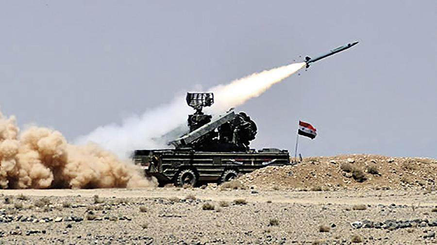Сирийская ПВО сбила вражескую цель под Дамаском
