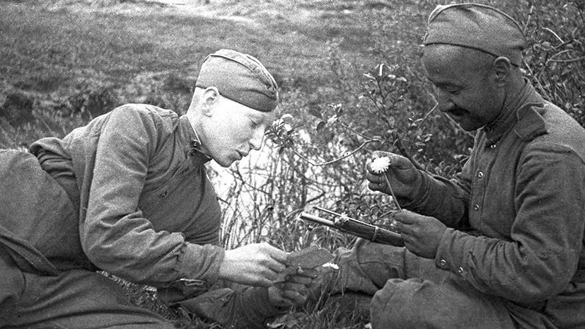 Письмо однополчан погибшего во время Великой Отечественной войны солдата, не дошедшее до его матери