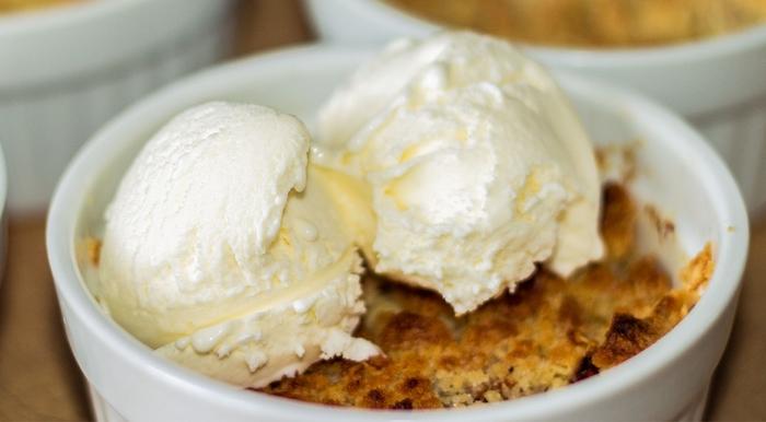Яблочный крамбл - простой и вкусный десерт Рецепт, Видео рецепт, Кулинария, Вкусно, IrinaCooking, Яблочный крамбл, Видео, Длиннопост