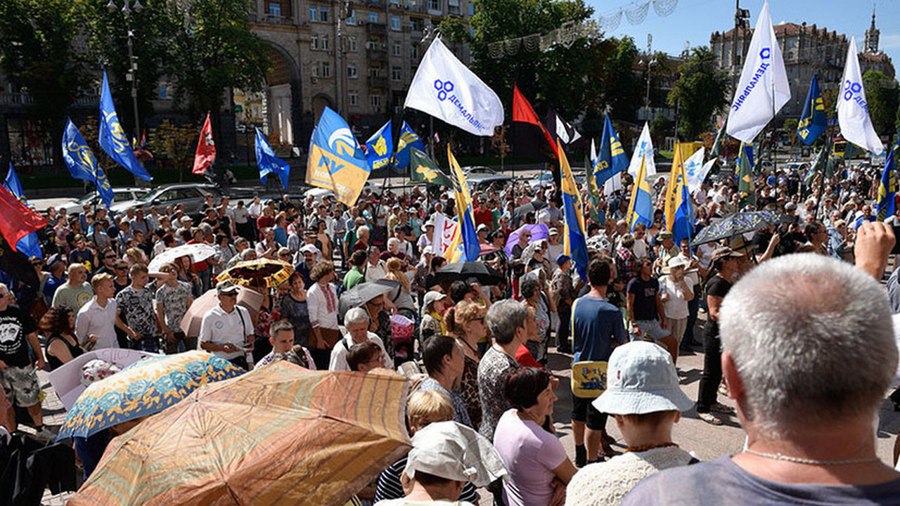 Демагогия и паника: на Украине обвинили Россию в «провоцировании бунтов»