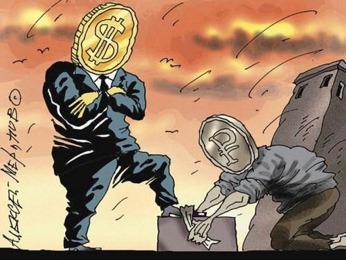 Умереть за Дерипаску – или почему рубль падает?