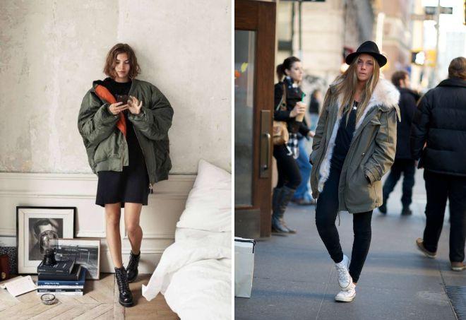 женские куртки в стиле оверсайз