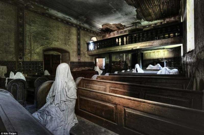 2. Заброшенная церковь... и прихожане. Нидерланды заброшенные места, крипи, прикол, ужас