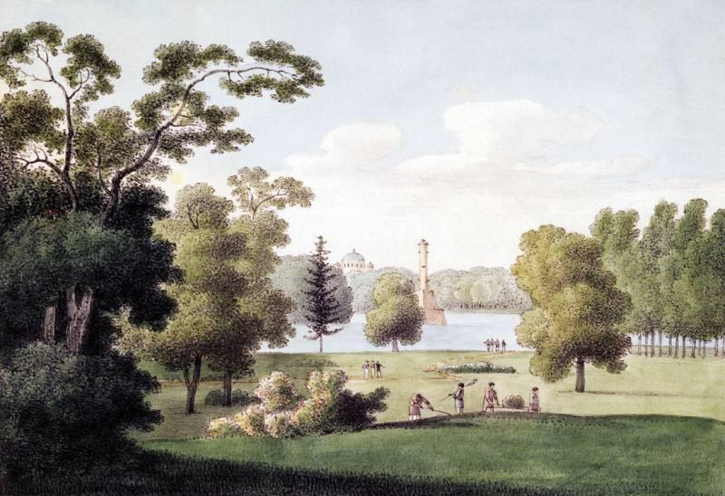 Фотография царскосельский парк
