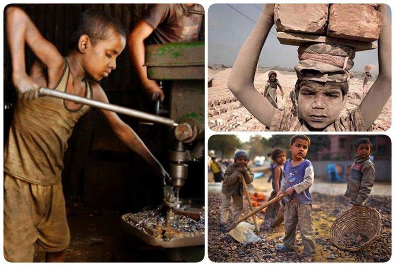 Тяжелый детский труд до сих пор востребован: 20 снимков, которые ранят в самое сердце