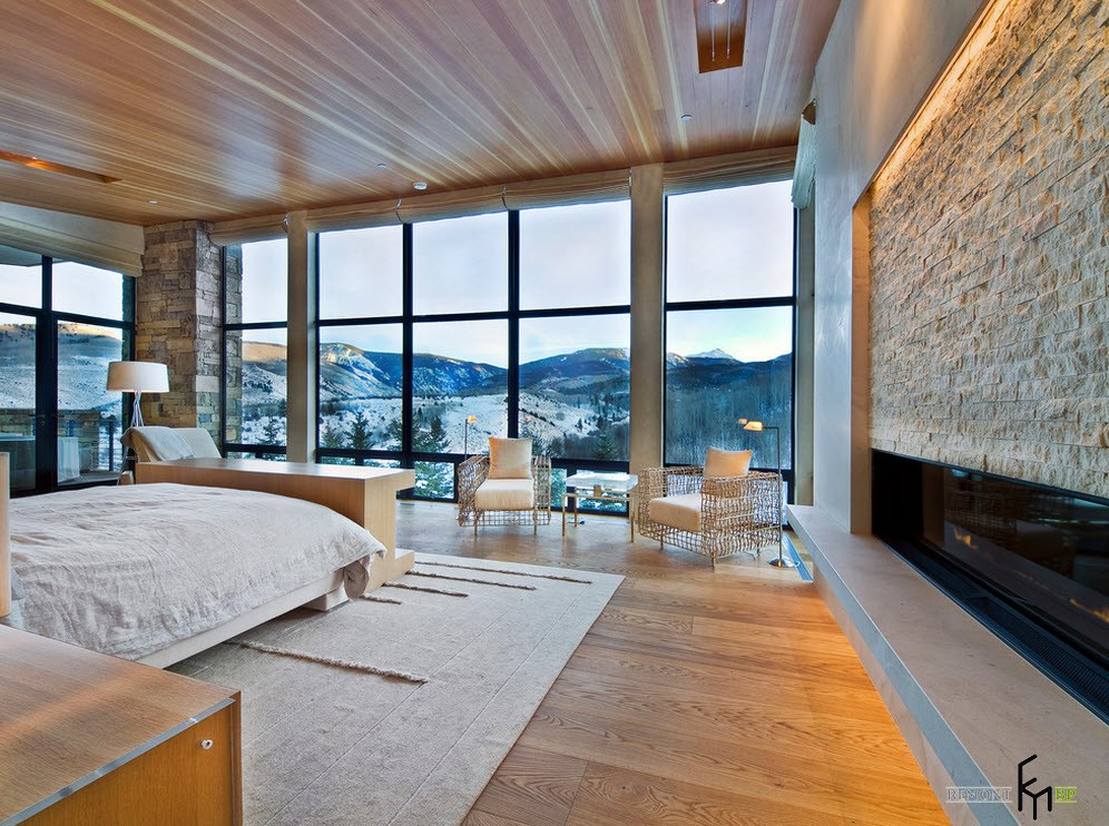Квартира с панорамными окнами дизайн