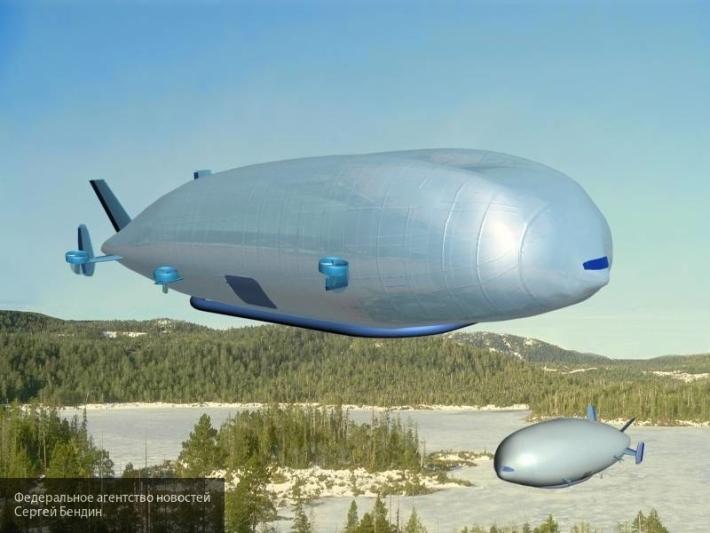 Россия создает военный дирижабль, который «прикроет» ее от ракетного удара