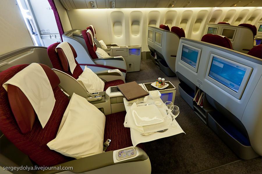 12104 Бахрейнский авиасалон: Интерьеры самолетов