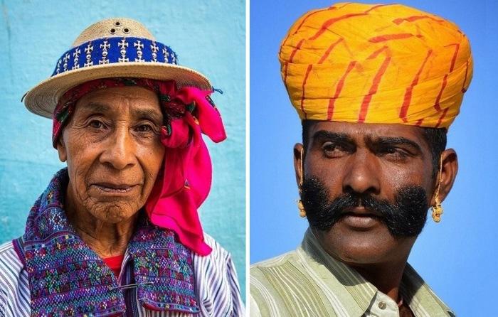 «Мир в лицах»: 30 колоритных портретов людей из самых отдаленных уголков земного шара