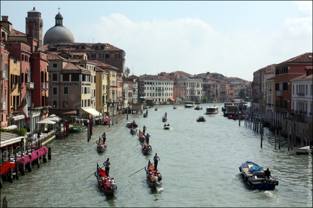 Венеция стоит на пермских сваях