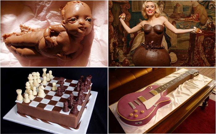 Удивительные шоколадные изделия