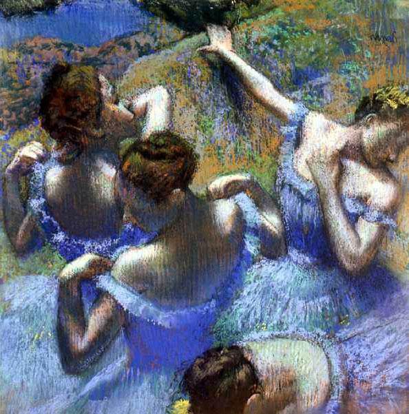 «Голубые танцовщицы»
