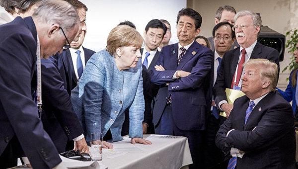 саммит G7, AP Photo / Jesco Denzel/Федеральное правительство Германии