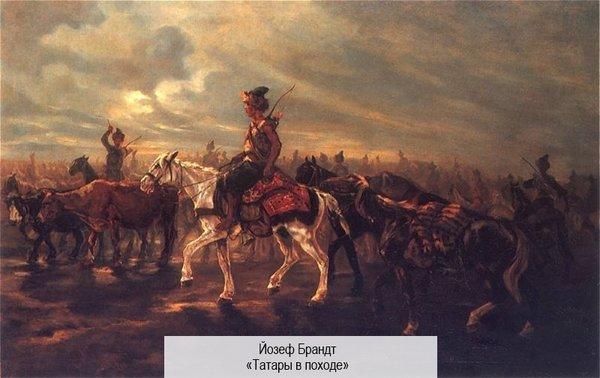 Почему татарские всадники перешли под власть русских князей?