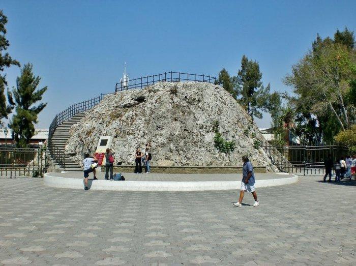Куэскомате – внутри потухшего вулкана