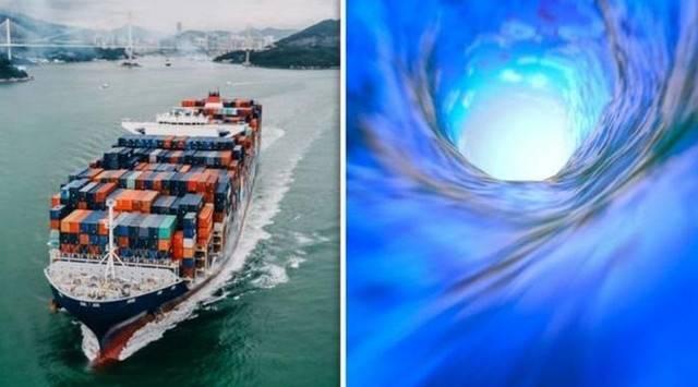 Китайский корабль попал в др…