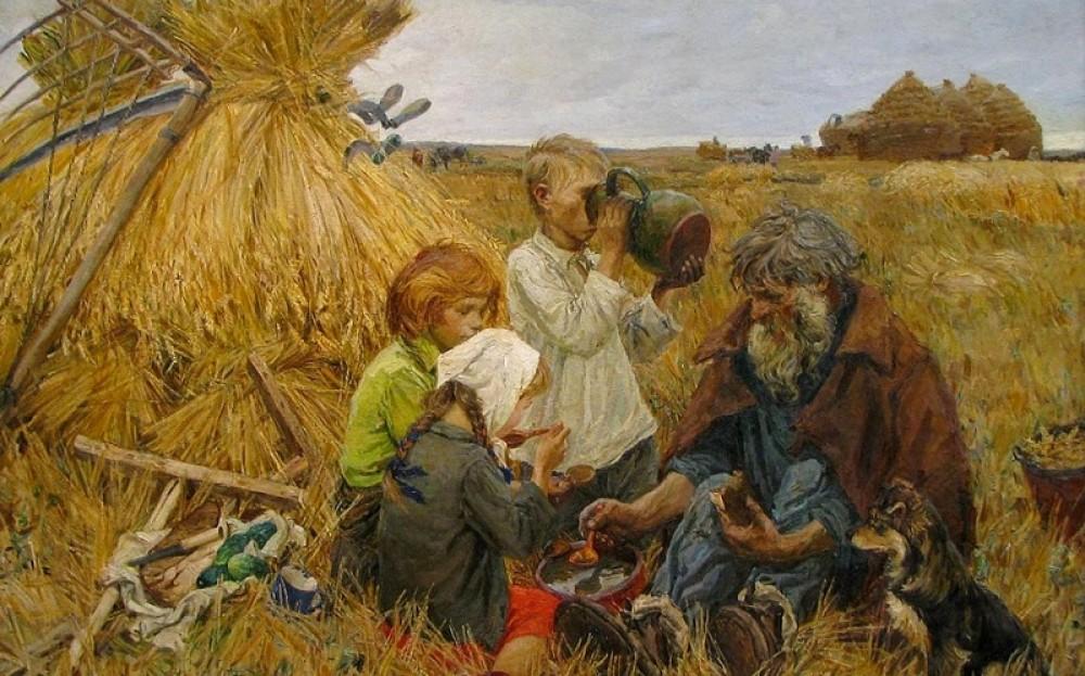 Что умел мальчик в русской деревне век назад