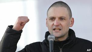 Удальцов - правнук революционерки Землячки?
