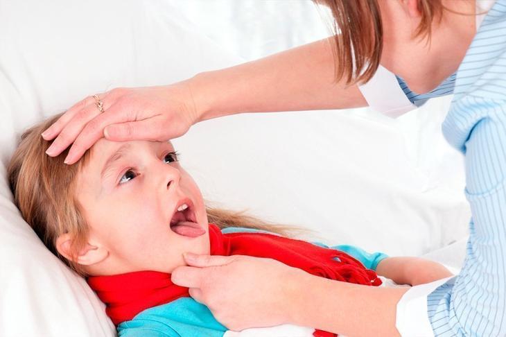 Смазывание при ангине гланд керосином или йодом