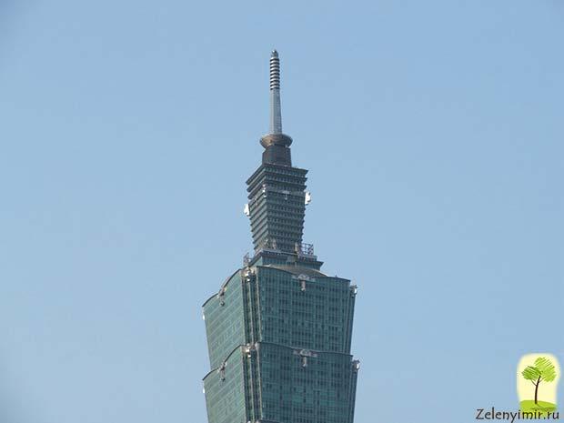 Гигантский небоскреб Тайбэй 101 в Тайване - 5