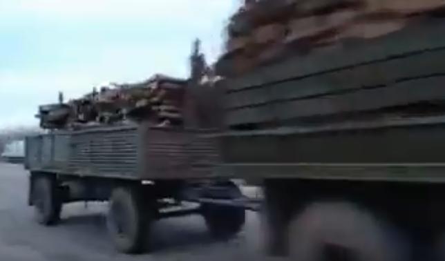На границе с Крымом к бандитам присоединились военные