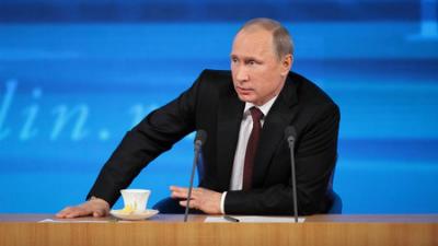 Владимир Путин впервые проко…