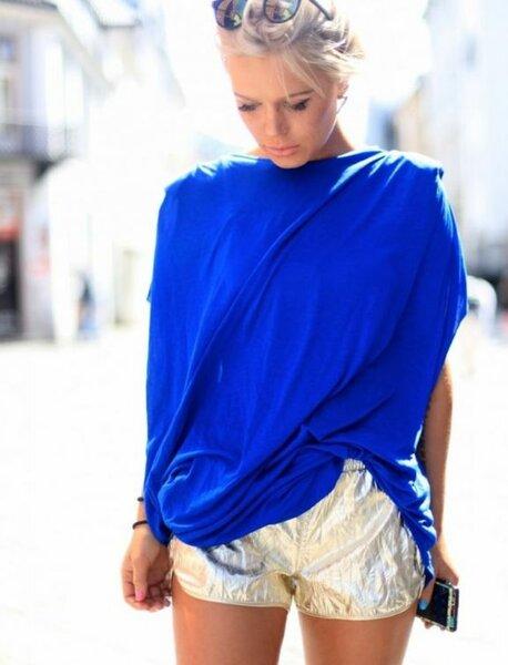 Ulrikke Lund, Норвегия, золотые шорты storets, minusey.com, www.ulrikkelund.com