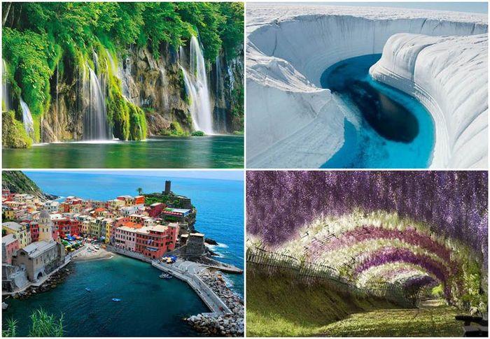 10 мест неземной красоты, которые действительно существуют на Земле (10 фото)
