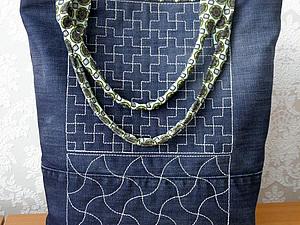 Джинсовая сумочка | Ярмарка Мастеров - ручная работа, handmade