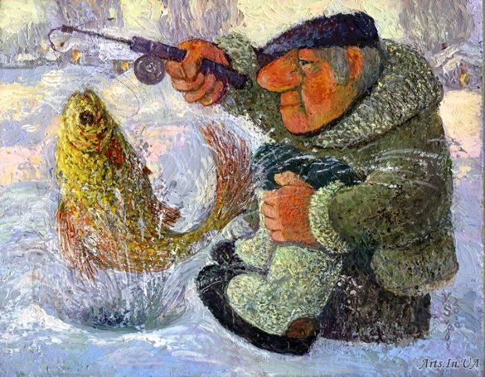 художник Валерий Сыров картины - 11