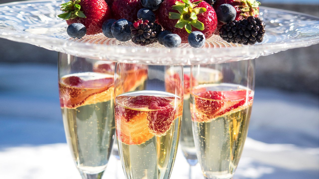 Идеальные закуски к шампанскому
