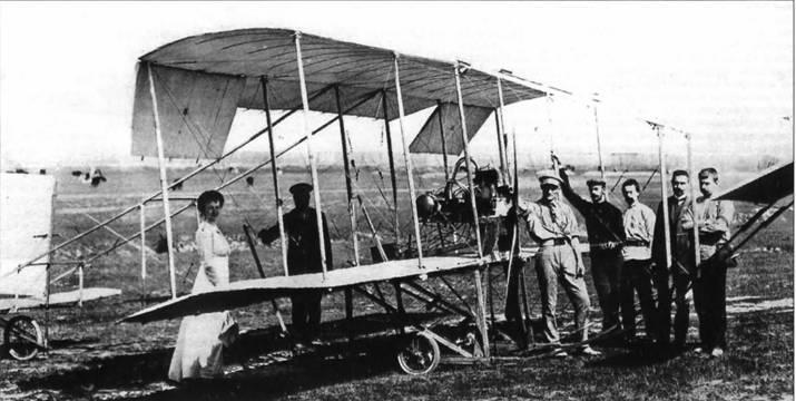 Начало авиастроения в Российской империи. Полет первого русского самолета