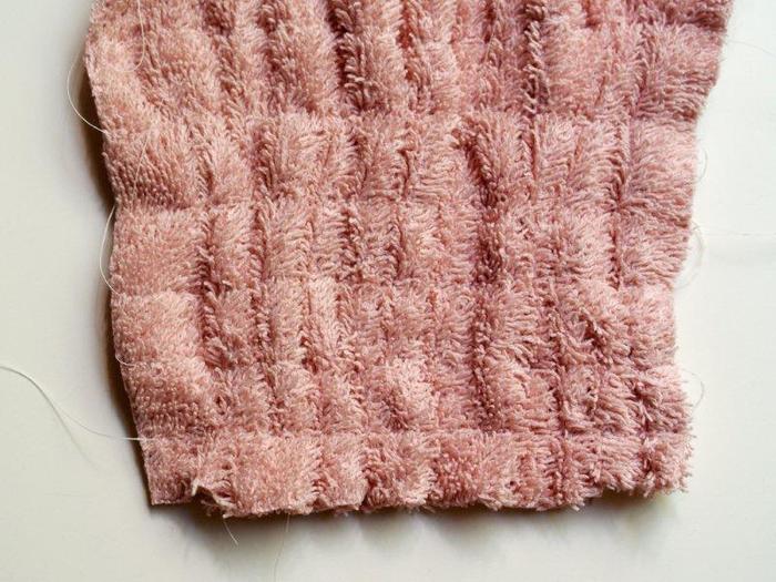 Бандаж своими руками из вафельного полотенца