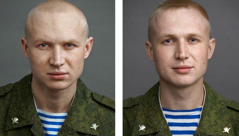 Солдаты до и после армии
