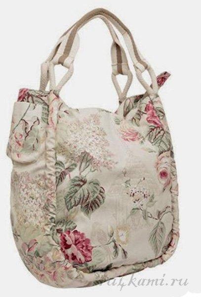 Маленькая-большая летняя сумка. Выкройка