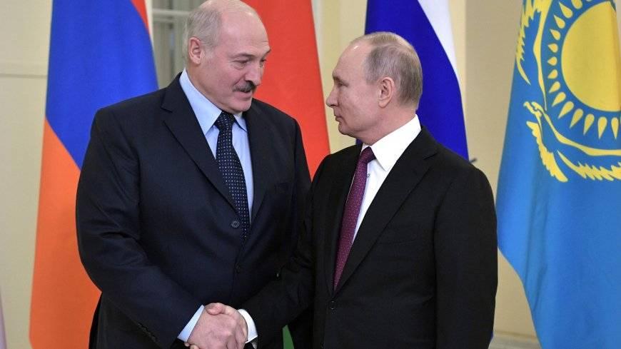 Лукашенко вывели на чистую в…