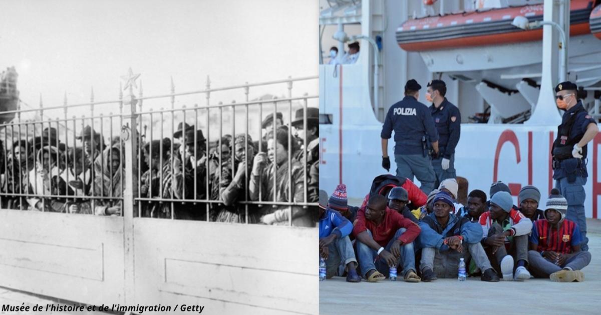 Сейчас итальянцы ненавидят мигрантов - а ведь в XX веке они сами ими были!