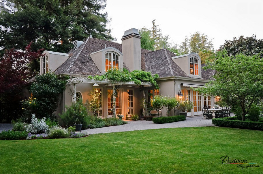Дизайн французских домов