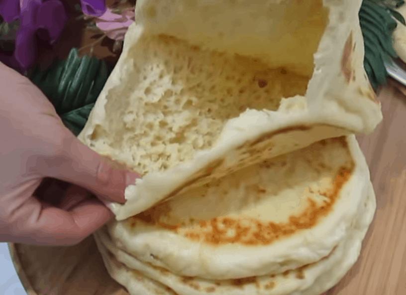 Аппетитные пышные лепешки — отличная альтернатива хлебу