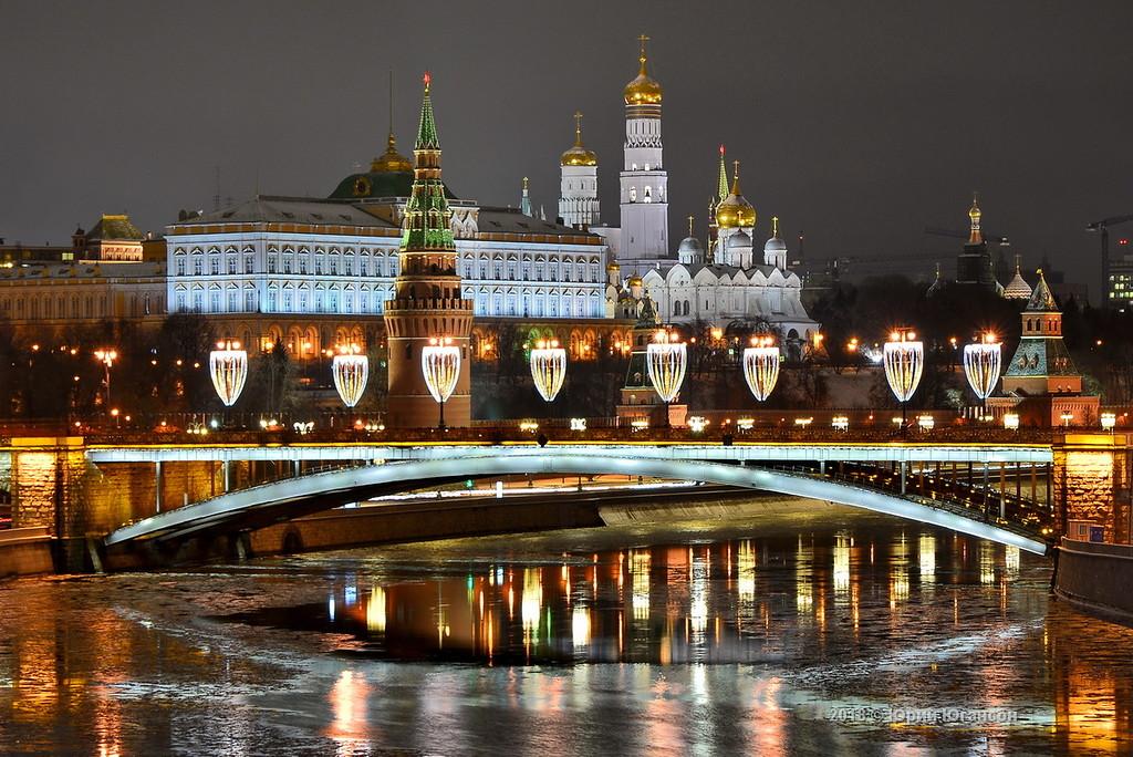 То, что стоит увидеть: Москва ночная